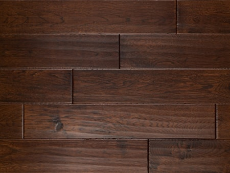 hardwood flooring dark brown