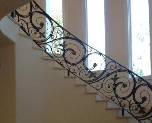 custom iron handrail
