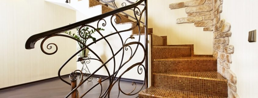 iron work handrail in los angeles, ca