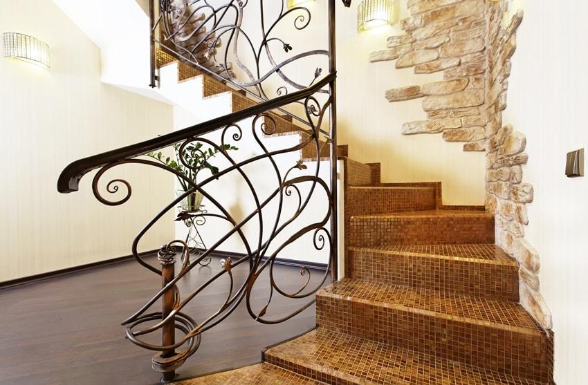 iron work handrail in los angeles, ca